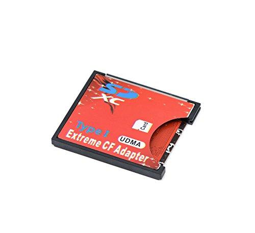 QUMOX SD SDHC SDXC Um CF Compact Flash Speicherkarte Adapter Reader Typ 1 unterstützt WIFI-Karte