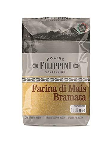 Farina gialla bramata 1 kg. - Molino Filippini