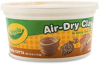 Wholesale CASE of 25 - Crayola Air-Dry Clay -Clay, Air Dry, 2.5lb., Terra Cotta