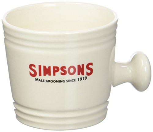 Taza de afeitado Simpsons con agarre pulgar