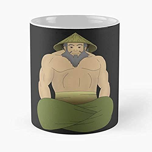 Perro de raza Spaniel con gorro Hipster Taza de café animal Taza de té de cerámica blanca - Regalo divertido para mujer hombre niños mamá papá amigos