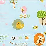 Baby Windel Wickelauflage Baumwolle Ecologic Windel Wickeltisch Cartoon Baby wasserdichte Matratze Bettlaken Infant Change Mat Abdeckung 2 stück,blueparadise,50 * 70cm