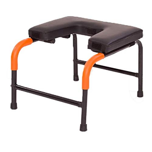 Find Discount Dygzh Yoga Stool Assisted Inverted Chair Yoga Headstand Prop Home Fitness Inverted Ben...