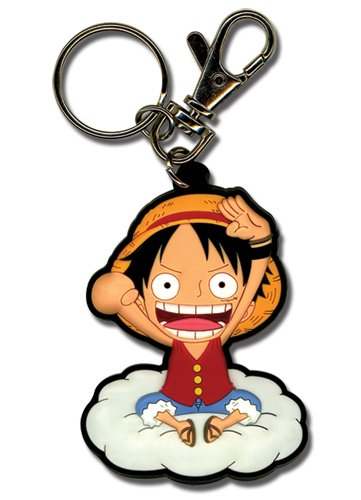 Great Eastern Entertainment One Piece Luffy On The Cloud Porte-clés en PVC