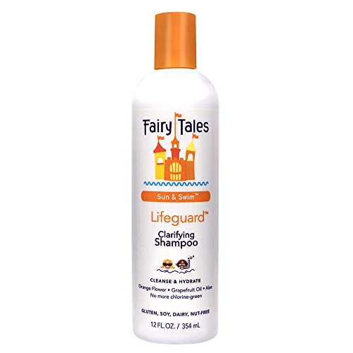 Fairy Tales Swim Shampoo for Kids - 12 oz | Made with Natural Ingredients in the USA | Chlorine Removal Swimmer Shampoo for Kids | No Parabens, Sulfates, or Synthetic dyes