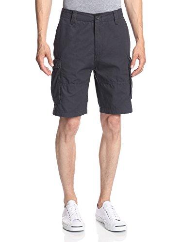 Nautica Men's Ripstop Cargo Shorts Off Black Shorts 34 X 9.5
