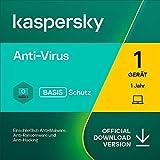 Kaspersky Anti-Virus 2021   1 Gerät   1 Jahr   Windows   Aktivierungscode per Email