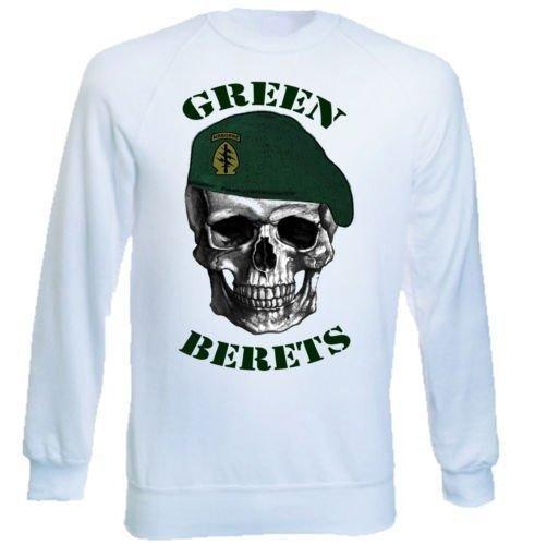 teesquare1st Green Berets Estados Unidos Special Forces de 1Graphic Sudadera S