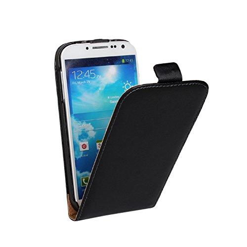 EximMobile Flipcase Handytasche Etui Tasche für Huawei Ascend G6 Schwarz