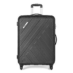 Safari RAY Polycarbonate 77 cms Black Hardsided Large Luggage (Ray 77 4W Black),Safari