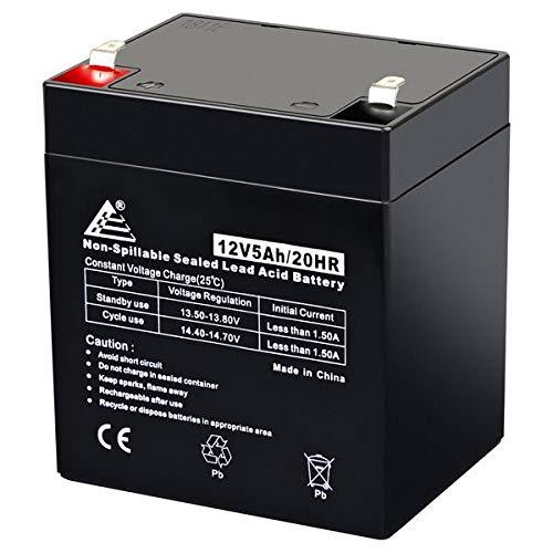 12V 5Ah AGM Lead Acid Battery ECI Power