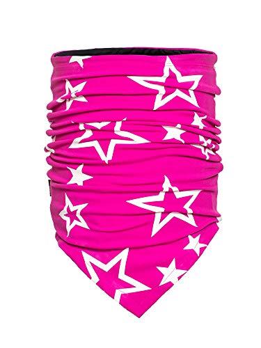 GOLDBERGH W Estelle Neckwarmer Pink, Damen Schals und Halstücher, Größe One Size - Farbe Wow Pink