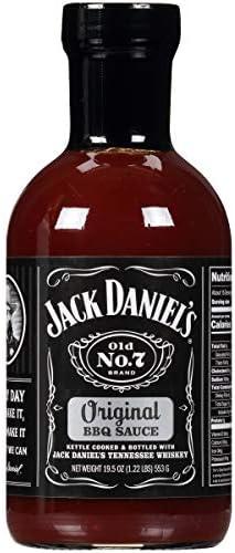 Jack Daniel s Old No 7 Original BBQ Sauce Authentic Small Batch Jack Daniel s BBQ Sauce Preservative product image