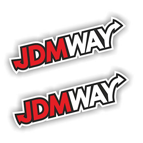 foliezentrum 2X JDMWAY jdmway sticker shocker hand auto JDM tuning dubbel decal stickerbomb bombing sticker Illest Dapper Fun Oldschool