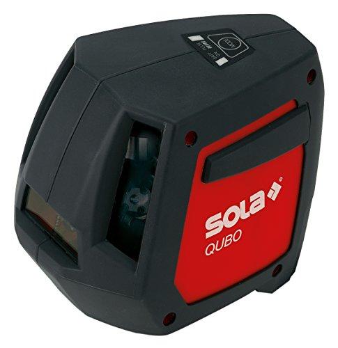 Sola 71014501 Nivel láser líneas y puntos QUBO PROFESSIONAL (alcance hasta 80 m), Único