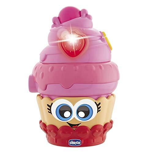 Chicco Candy Passione Cupcake Jeu électronique avec lumières et Sons, 6 à 36 Mois