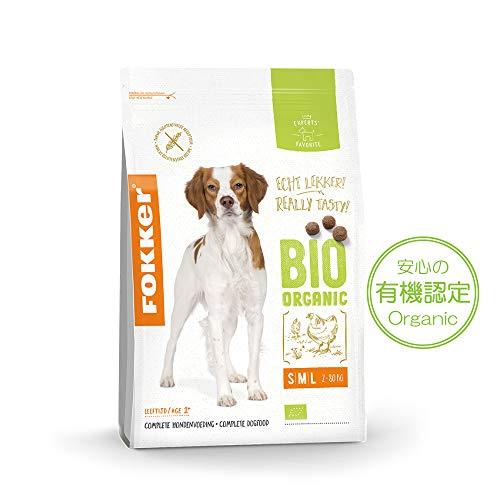Fokker Bio hondenvoer Dog Organic, per stuk verpakt (1 x 2,5 kg)
