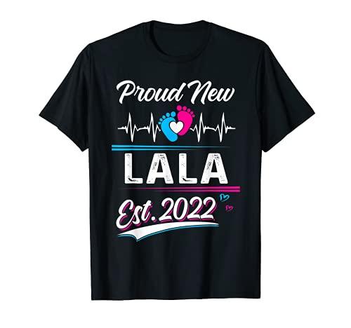 Lala Gift Orgulloso New Lala EST 2022 Día de la Madre Camiseta