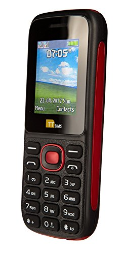 TTsims TT120 Dual SIM O2 Pay As You Go Handy (rot)