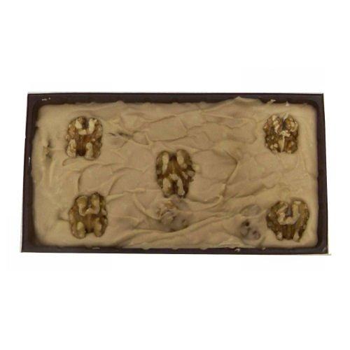 Home Made Creamy Maple English Walnut Fudge - 12 OZ Gift Box