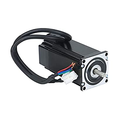 RTELLIGENT Nema 23 Stepper Motor Closed Loop 2 Phase 3.0NM 4.0A 57x57x119mm with 30cm Cable for CNC Automation Equipment