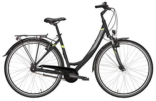 ZEG Pegasus Avanti 7 Damenfahrrad 7 Gang Cityrad 2020, Farbe:schwarz, Rahmenhöhe:50 cm