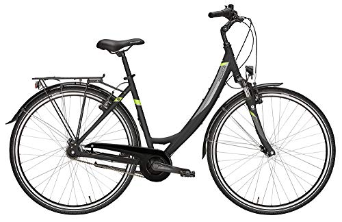 ZEG Pegasus Avanti 7 Damenfahrrad 7 Gang Cityrad 2020, Farbe:schwarz, Rahmenhöhe:55 cm