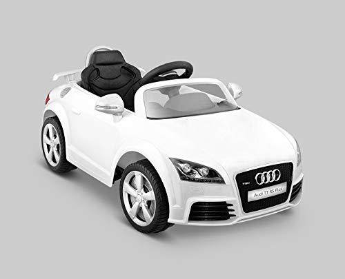 Kid Motorz 401 Audi Tt Rs One Seater Car, White