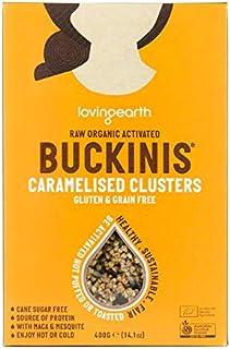 Loving Earth Raw Organic Buckinis Caramelised Clusters 400 g