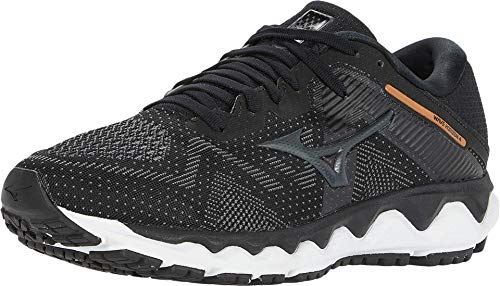Mizuno Men's Horizon 4 Running Shoe, Black-Dark Shadow, 13 D