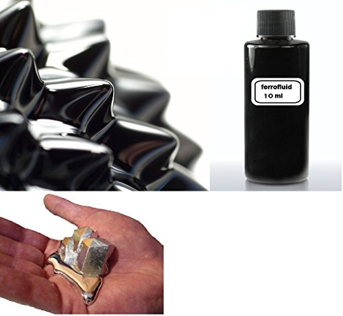 10ml Flasche Ferrofluid + 10g gallium liquid metal