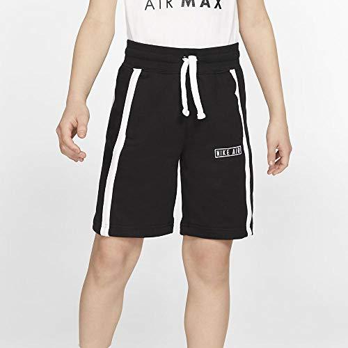 Nike Jungen B NK AIR Sport Shorts, Black/White, M