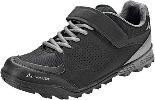 VAUDE Unisex AM Downieville Low Mountainbike Schuhe, Black, 46 EU