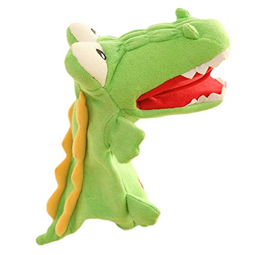 Auch 15inch Crocodile Alligator Hand Puppet Stage Puppet Full Hand Role Play Toy for Kids Party Favor Supplies
