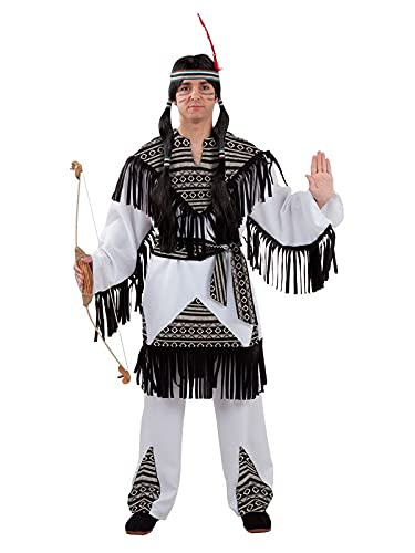 DISBACANAL Disfraz Indio Cherokee para Hombre - XXXL