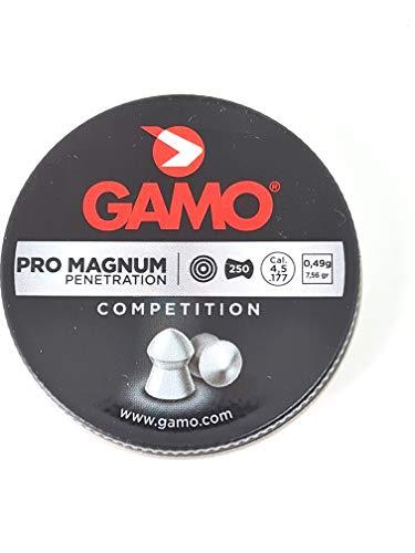 pallini carabina aria compressa 4.5 PALLINI PIOMBINI 4 5 4.5 MM PIOMBINI ARIA COMPRESSA A GAS CO2 Gamo Pro magnum. 250 pallini