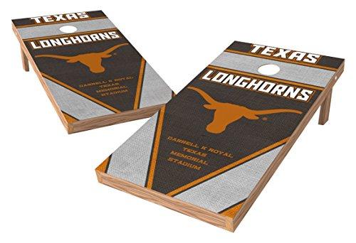 PROLINE 2'x4' NCAA College Texas Longhorns Cornhole Set - Burlap Design