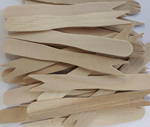 RY Quality Caterpack 100 x Wooden Disposable Chip Forks