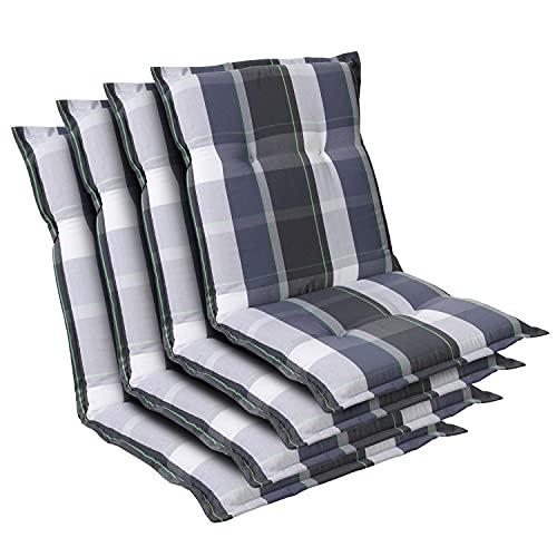 Homeoutfit24 Prato - Cojín Acolchado para sillas de jardín