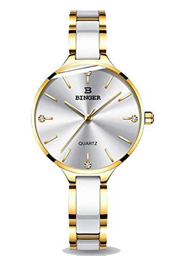 AESOP Frauen Quarzuhr Mode wasserdichte Damenuhr elegante Serie Mode Uhr Business Tabelle Urlaub Geschenk Uhr