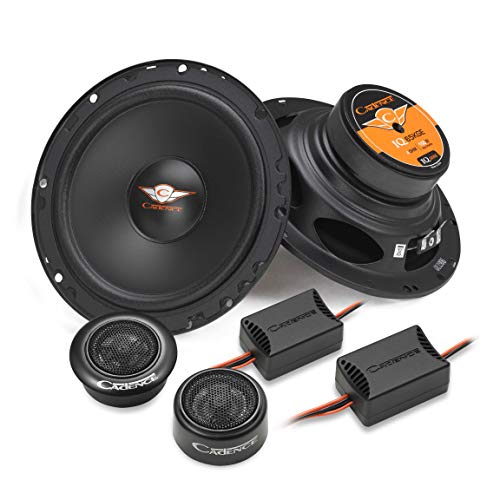 "Cadence IQ 65KGE | 6.5"" 2-Way Component Kit – 150 Watt Speaker"