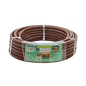 S&M 544941 Manguera de riego Flexible con goteros Integrados 16 mm 0,50 m x 25 m, Color marrón, 40.0×40.0x10.0 cm