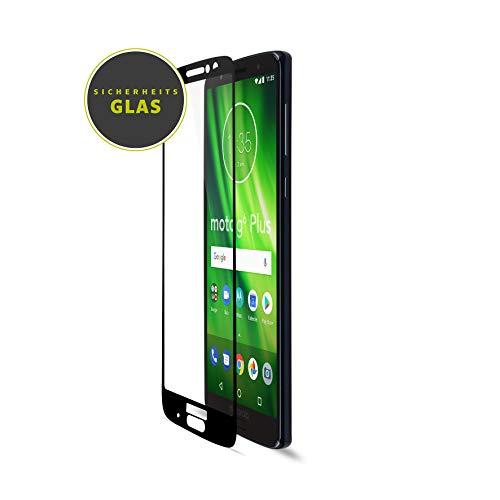 Artwizz CurvedDisplay Schutzglas Designed für [Motorola Moto G6 Plus] - Displayschutz aus Panzerglas mit 100% Display-Abdeckung, 9H Härte