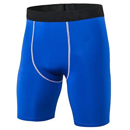 SJIUH Traje de Bikini Pantalones Cortos de Verano para Hombres Pantalones Deportivos Deportivos para Hombres Pantalones Cortos de Secado rápido Deportivo para Hombre Pantalones Cortos de compresió