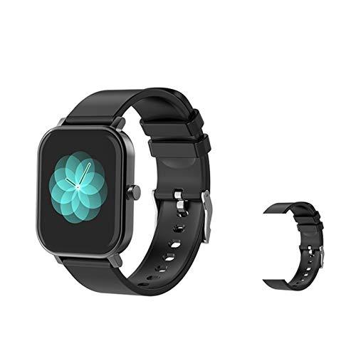 S10 Smart Watch Hombre 1.69 Pulgadas Pantalla Táctil Fitness Tracker IP68 A Prueba De Agua Reloj Inteligente Mujer Smartwatch para Android iOS,F