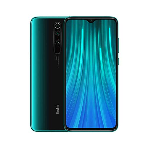 "Xiaomi Redmi Note 8 Pro Phone 6GB RAM + 64 GB ROM, 6.53 ""Full Screen, Helio G90T Octa-Core MTK CPU, 20MP Front and 64MP AI Four Mobile Camera Rear Camera Global Version (Green)"