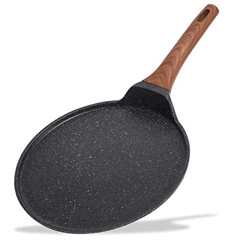 ESLITE LIFE Crepe Pan Pancake Dosa Tawa Pan Nonstick Flat...