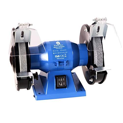 150W Electric Bench Grinder Machine Dual Wheel 150mm DISC Sander Polisher Tool