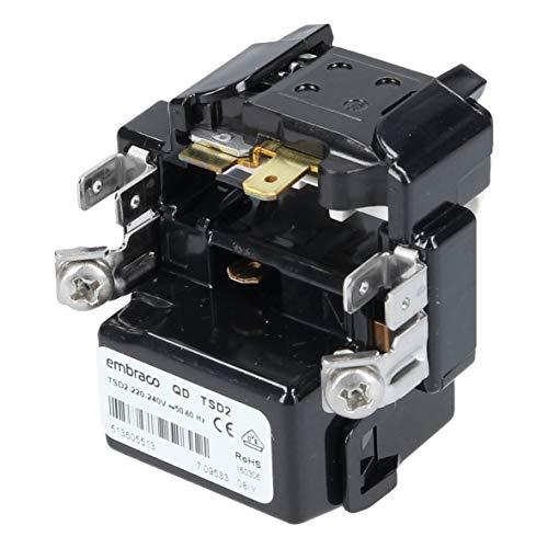 Anlaufvorrichtung Anlassvorrichtung Anlassrelais Anlaufrelais embraco QD TSD2 Kühlschrank Gefrierschrank ORIGINAL Bosch Siemens 00611445