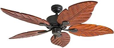 """Honeywell Ceiling Fans 50501-01 Sabal Palm Ceiling Fan, 52"""", Bronze"""